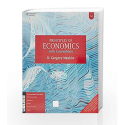 Principles of Economics with Course Mate by N. Gregory Mankiw Book-9788131532324