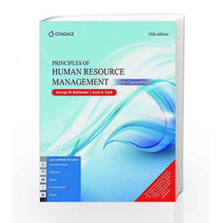 Principles of Human Resource Management with Course Mate by George W. Bohlander Book-9788131532492