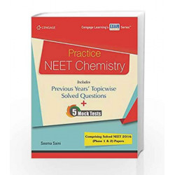 Practice NEET Chemistry by Seema Saini Book-9788131533291
