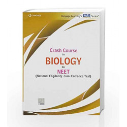 Crash Course in Biology for NEET by Cengage Learning India Book-9788131533383