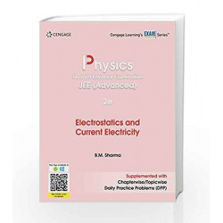 Physics for Joint Entrance Examination JEE (Advanced): Electrostatics and Current Electricity by DAWSON Book-9788131533826
