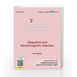Physics for Joint Entrance Examination JEE (Advanced): Magnetism and Electromagnetic Induction by DEB Book-9788131533833