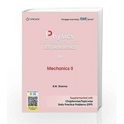 Physics for Joint Entrance Examination JEE (Advanced): Mechanics II(2e) by DAVIS Book-9788131533857
