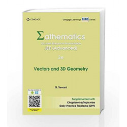 Mathematics for Joint Entrance Examination JEE (Advanced): Vectors & 3D Geometry by G. Tewani Book-9788131533925