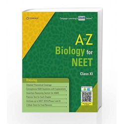 A to Z Biology for NEET Class XI by Cengage Learning India Book-9788131534182