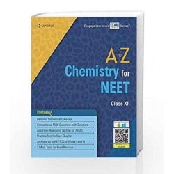 A to Z Chemistry for NEET Class XI by Cengage Learning India Book-9788131534205