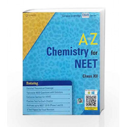 CHEMISTRY FOR NEET by Cengage Learning India Book-9788131534212