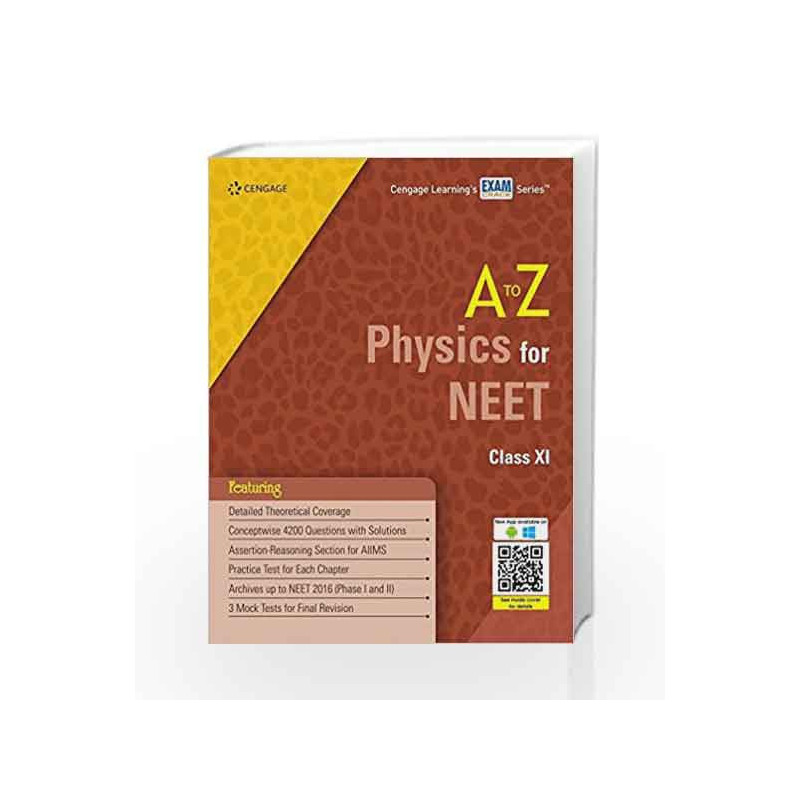 A To Z Physics For Neet Class Xi By Cengage Learning India Buy