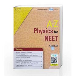 A TO Z PHYSICS FOR NEET by CENGAGE Book-9788131534236