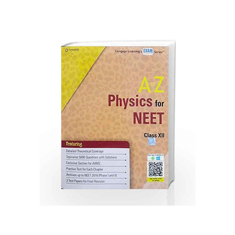 A To Z Physics For Neet By Cengage Buy Online A To Z Physics For