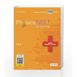 Physics NEET for everyone: Part 1 by C.P. Singh Book-9788131534304