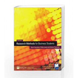 Research Methods For Business Students by COMPILED BY DAN ZADRA Book-9788131701157