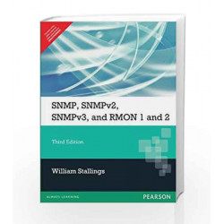 SNMP, SNMPv2, SNMPv3, and RMON 1&2, 3e by STALLINGS Book-9788131702307