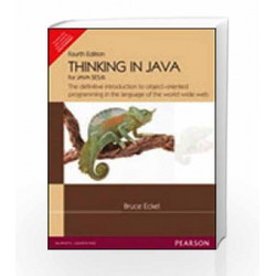 Thinking in Java by Eckel B Book-9788131705575