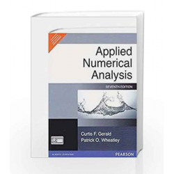 Applied Numerical Analysis (7th ED) by Gerald Book-9788131717400