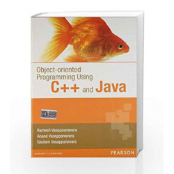 Object Oriented Programming Using C++ and Java, 1e by Vasapannarava - et al Book-9788131754559