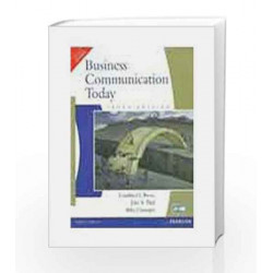 Business Communication Today, 10e by Bovee / Chatterjee Book-9788131757994