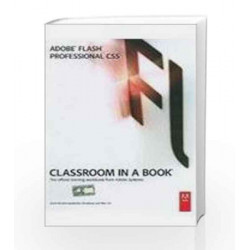 Adobe Flash Professional CS5 Classroom in a Book by Adobe Book-9788131761991