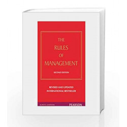 Rules of Management: A definitive code for managerial success, 2e by Templar Book-9788131765777