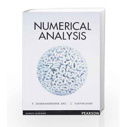 Numerical Analysis, 1e by Sivarama Krishna Das Book-9788131776469