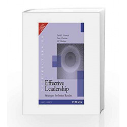 Effective Leadership, 1e by Goetsch / Chauhan Book-9788131785874