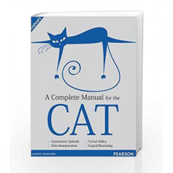 A Complete Manual for the CAT by Trishna Knowledge Systems Book-9788131790465