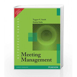 Meeting Management by Taggart E. Smith Book-9788131791547