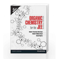 Organic Chemistry for the JEE by Rajora Morrison Book-9788131793565