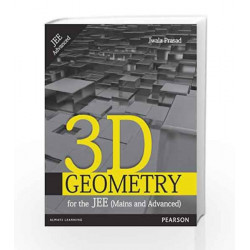 3-D Geometry for the JEE (Mains and Advanced), 1e by Jwala Prasad Book-9788131796221