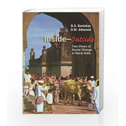 Inside-Outside: Two Views of Social Change in Rural India by BHALJA Book-9788132113508