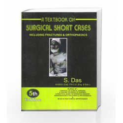 Textbook on Surgical short cases by Das S Book-9788160568135