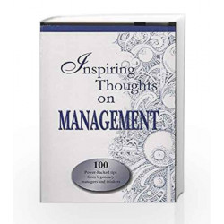 Inspiring Thoughts on Management (Inspiring Thoughts Quotation Series) by Meera Johri Book-9788170286950