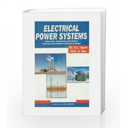 Electrical Power Systems by Uppal S L Book-9788174092380