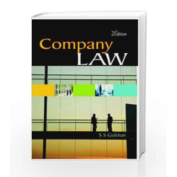 Company Law by S. S. Gulshan Book-9788174466365