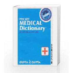 Pocket Medical Dictionary With 800 Illustrations by Gupta Book-9788174731425