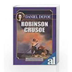 Robinson Crusoe (UBSPD\'s World Classics) by Daniel Defoe Book-9788174760487