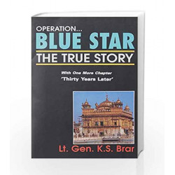 Operation Blue Star: The True Story by SARA GILBERT Book-9788174760685