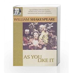 As You Like It by Shakespeare Book-9788174761194