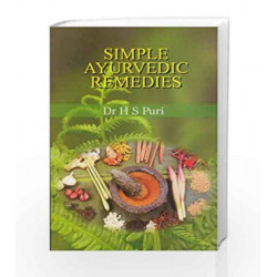 Simple Ayurvedic Remedies by SUSAN SHUMSKY, DD Book-9788174763495
