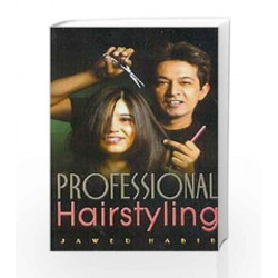 Professional Hairstyling by Jawed Habib Book-9788174765130