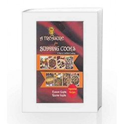 A Treasure for Budding Cooks: A Step to Confident Cooking by Kusum Gupta Book-9788174765871
