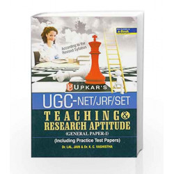 U.G.C.-NET/JRF/SET Teaching & Research Aptitude - General Paper I by Lal Book-9788174820556