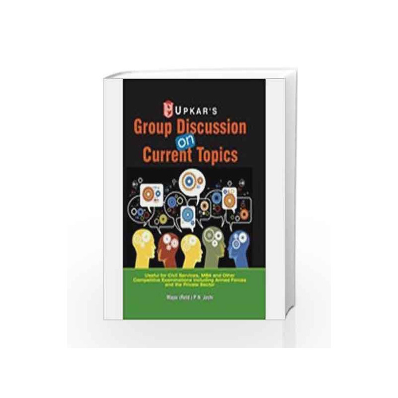 Group Discussion on Current Topics by P. N. Joshi Book-9788174821157