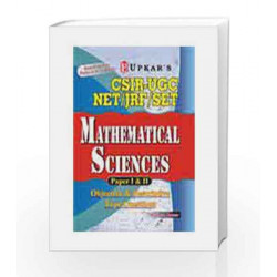 Upkar\'s CSIR-UGC Net/JRF/SET Mathematical Sciences by A. Kumar Book-9788174823809
