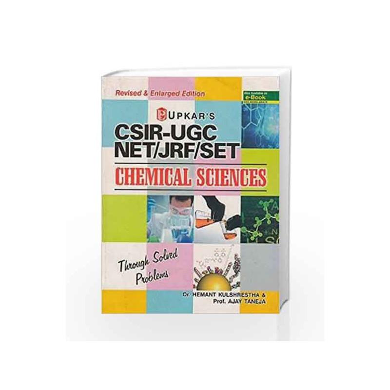 CSIR-UGC NET/JRF/SET Chemical Sciences by Hemant Kulshrestha-Buy Online  CSIR-UGC NET/JRF/SET Chemical Sciences Book at Best Price in