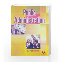 Public Administration by S Polinaudu Book-9788175154704