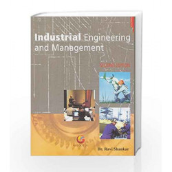 Industrial Engineering and Management by Ravi Shankar Book-9788175156050