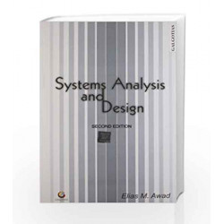 Systems Analysis and Design by Elias M Award Book-9788175156180