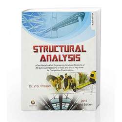 Structural Analysis by V S Prasad Book-9788175156364