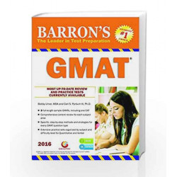 Barron\'s GMAT by TEJOMAYANANDA Book-9788175157620